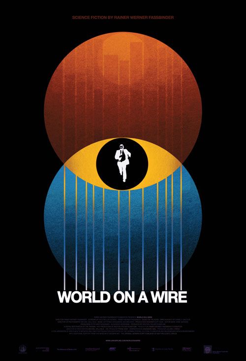 Ranier Fasbinder brutally attacks corporate conventions in his film World On A Wire, reviewed by Robert Taylor Brewer